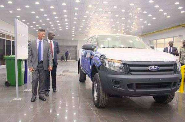 Ford Ranger made in Nigeria 17 Nov 2015