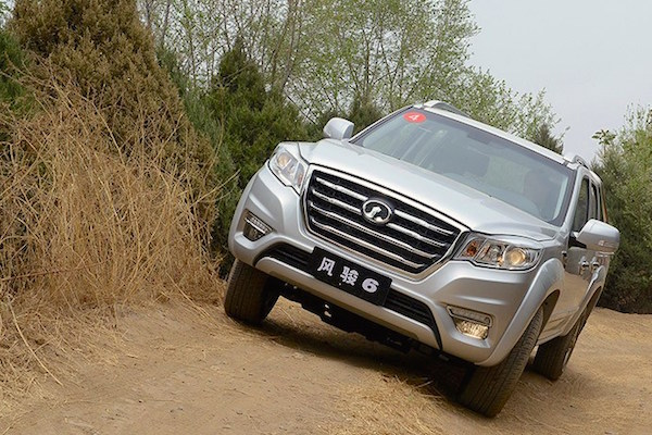 Great Wall Wingle 6 China May 2016. Picture courtesy autohome.com.cn