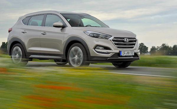 Hyundai Tucson Austria May 2016. Picture auto-motor-und-sport.de