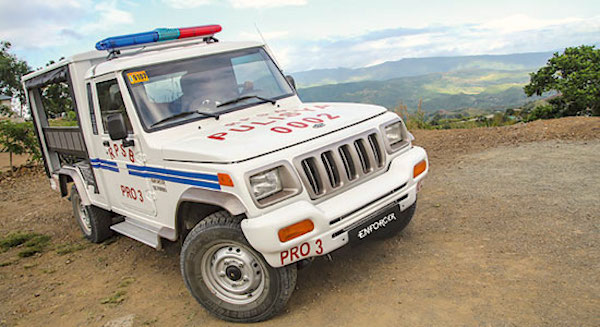Mahindra Enforcer Police Philippines May 2016