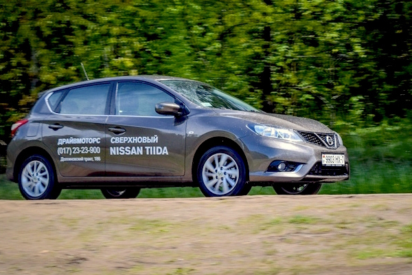 Nissan Tiida Belarus March 2016. Picture courtesy autobild.by