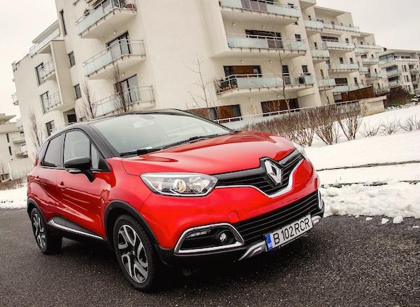 Renault Captur Slovenia August 2016. Picture courtesy eblogauto.ro