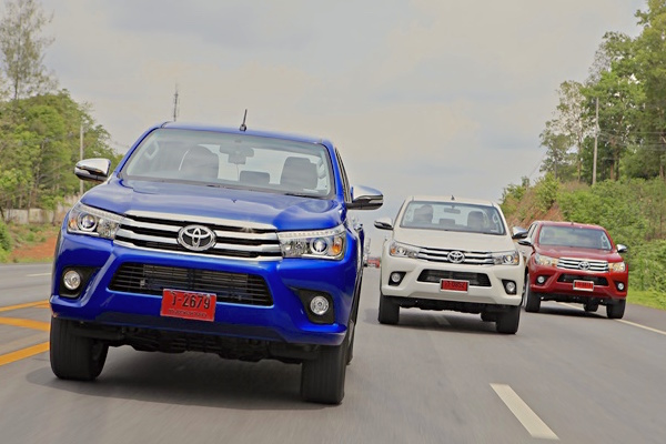 Toyota Hilux Revo Thailand May 2016. Picture courtesy caronline.net
