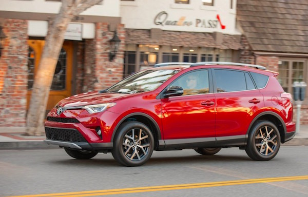 Toyota RAV4 USA May 2016. Picture courtesy caranddriver.com