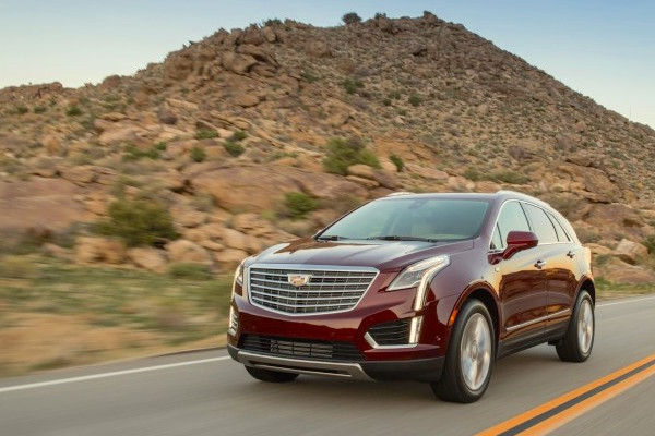 Cadillac XT5 USA June 2016. Picture courtesy caranddriver.com