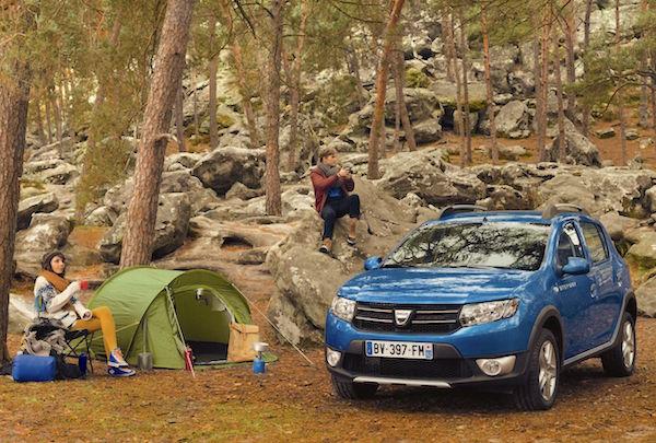 Dacia Sandero France June 2016