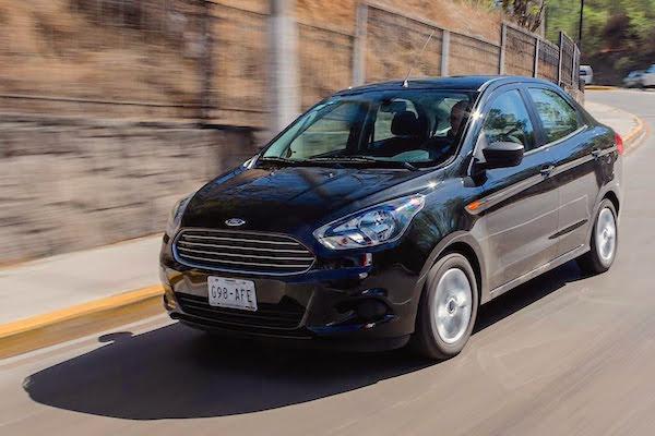 Ford Figo Mexico May 2016. Picture courtesy autocosmos.com