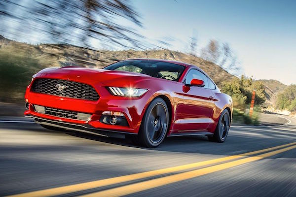 Ford Mustang Australia June 2016