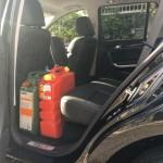 Haval H8 Back seat legroom 1