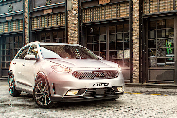 Kia Niro South Korea June 2016