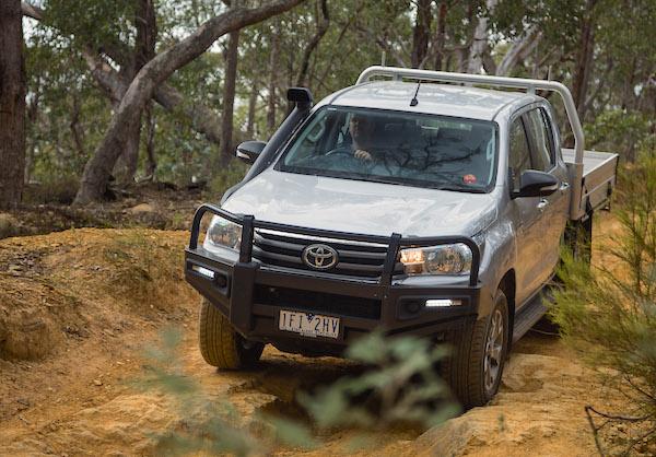 Toyota Hilux Australia September 2016. Picture courtesy of caradvice.com.au