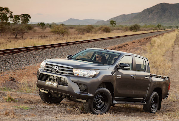 Toyota Hilux New Zealand June 2016
