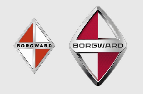 Borgward logo old and new