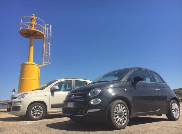 Fiat Panda 500 Palau Sardinia