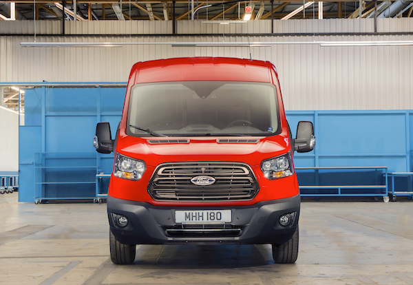 Ford Transit UK June 2016