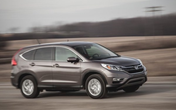 Honda CR-V USA July 2016. Picture courtesy caranddriver.com