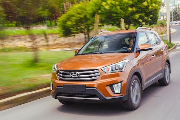 Hyundai Creta Mexico July 2016. Picture courtesy autocosmos.com