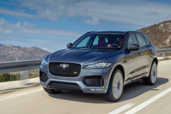 Jaguar F-Pace USA July 2016. Picture courtesy caranddriver.com