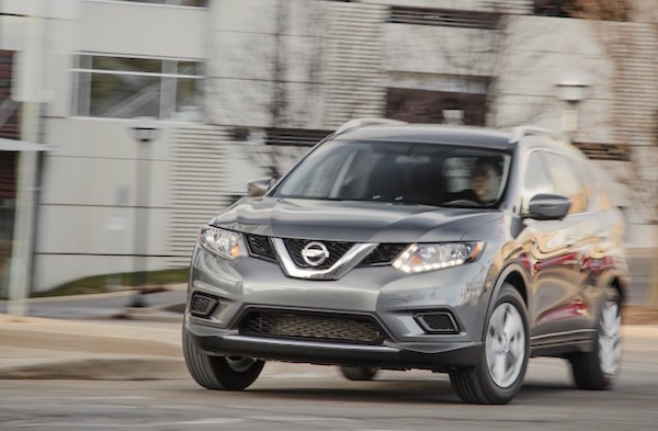 Nissan Rogue USA July 2016. Picture courtesy caranddriver.com