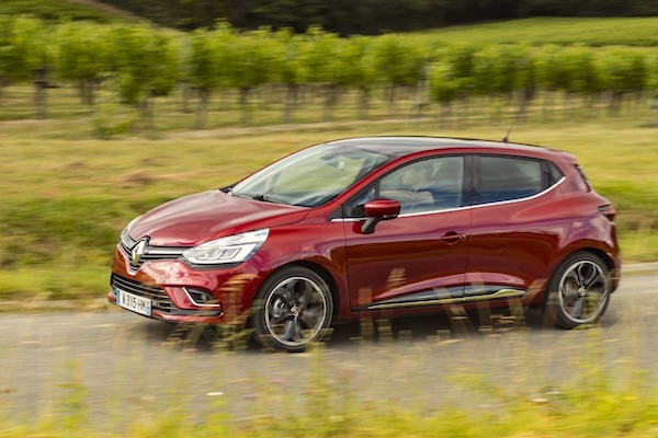 Renault Clio Italy July 2016