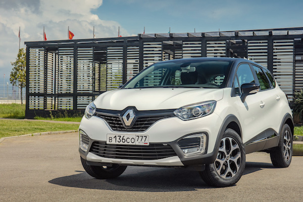 Renault Kaptur Russia July 2016. Picture courtesy motor.ru
