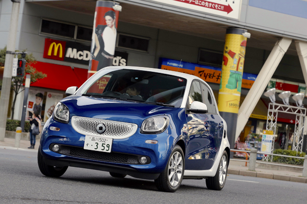 Smart Forfour Japan 2016. Picture courtesy autoc-one.jp