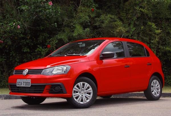 VW Gol Uruguay July 2016