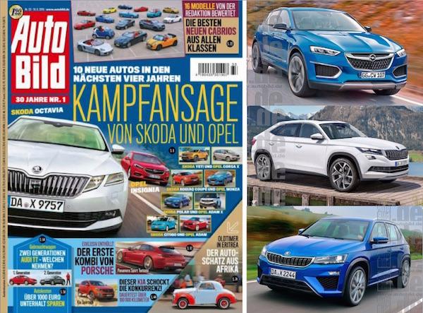 Auto Bild Skoda Opel