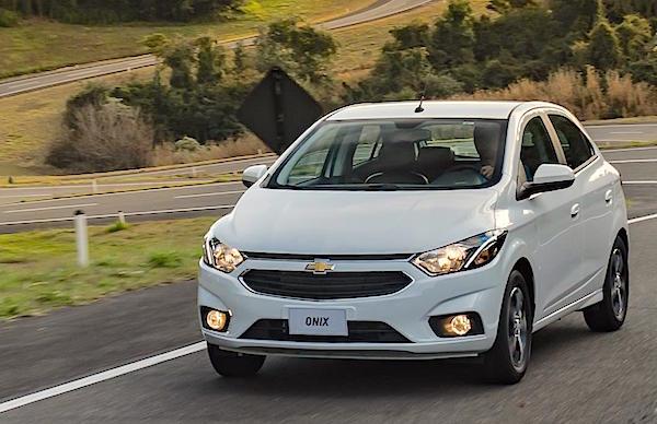 Chevrolet Onix Argentina July 2016