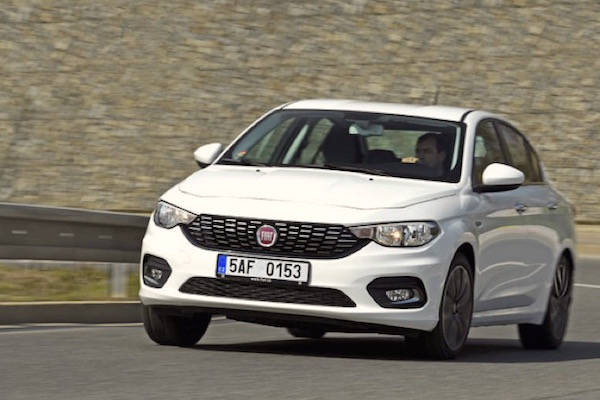 Fiat Tipo Italy August 2016. Picture courtesy auto.cz