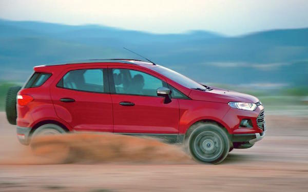 Ford Ecosport UK August 2016. Picture courtesy autocar.co.uk