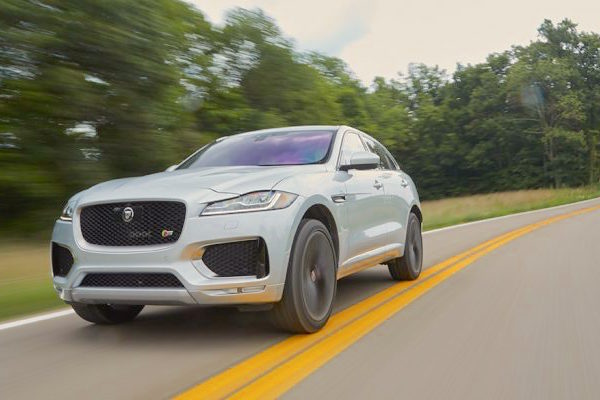 Jaguar F-Pace USA August 2016. Picture courtesy caranddriver.com