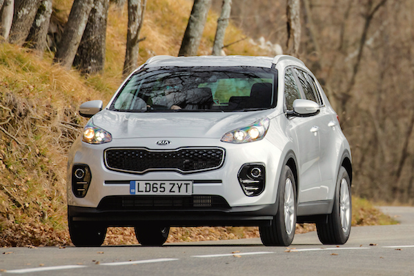 Kia Sportage UK 2016