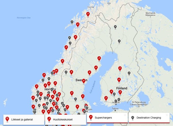 tesla-charging-stations-scandinavia