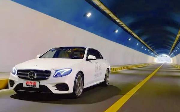 Mercedes E Class L China December 2016