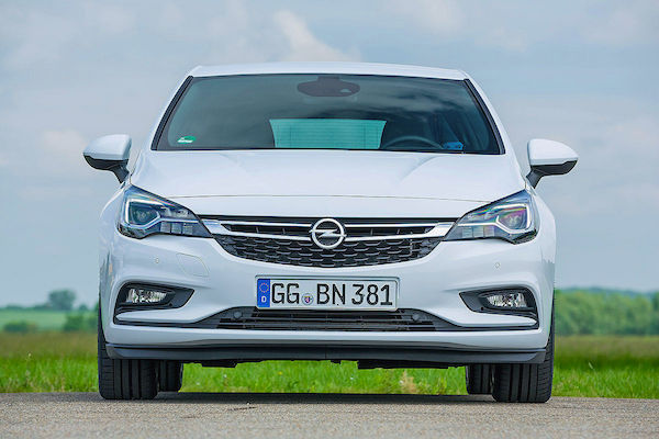 Opel Astra Germany 2016. Picture courtesy autobild.de