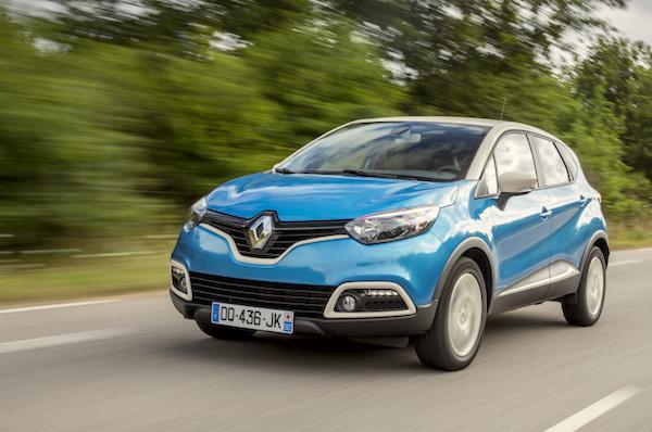 Renault Captur Europe 2016. Picture courtesy largus.fr