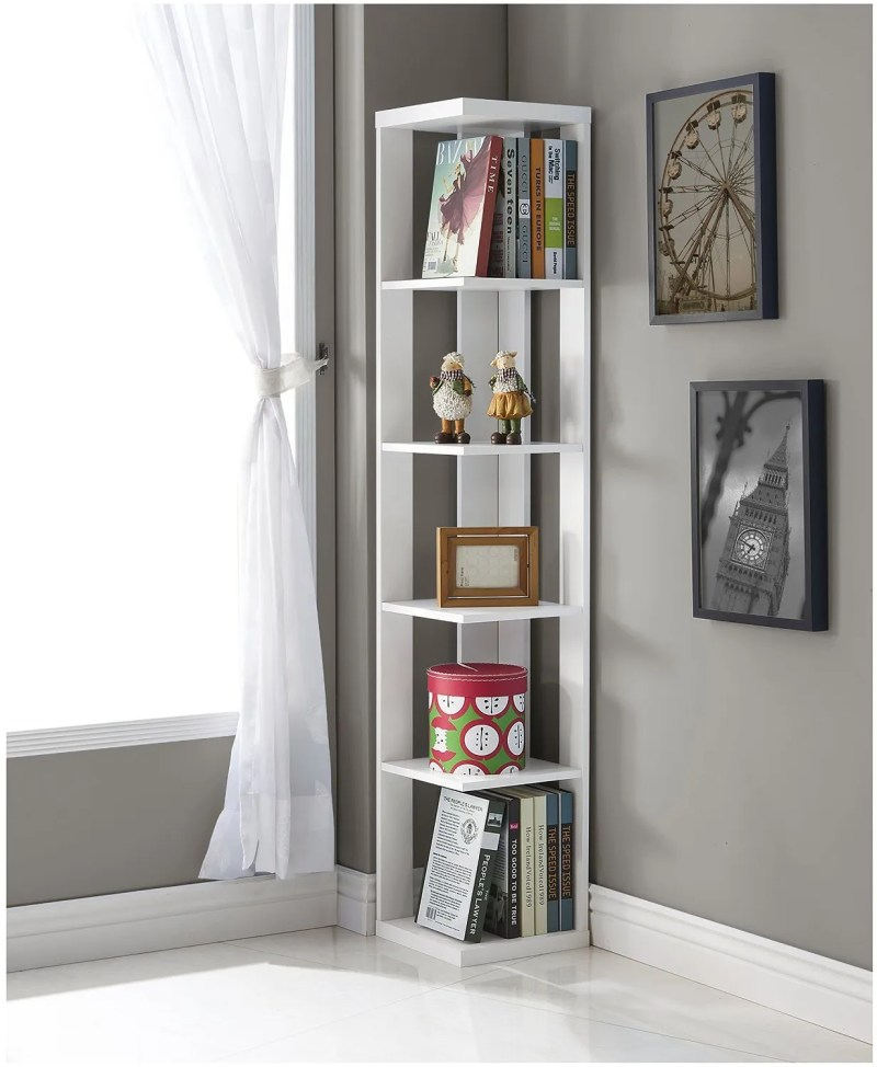 Large Of White Corner Shelf