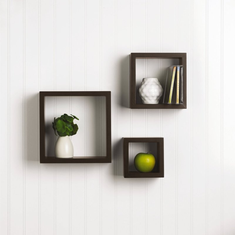 Large Of Floating Square Shelves