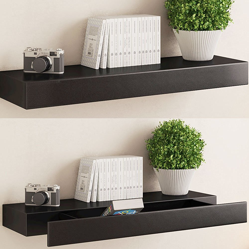 Pristine Drawer To Make Your Home Floating Wall Shelves Decorating Ideas Floating Wall Shelves Diy Drawer Floating Shelf Wall Mounted Shelf interior Floating Shelves Wall