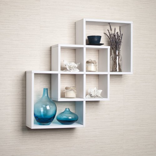 Medium Of Living Room Wall Shelves