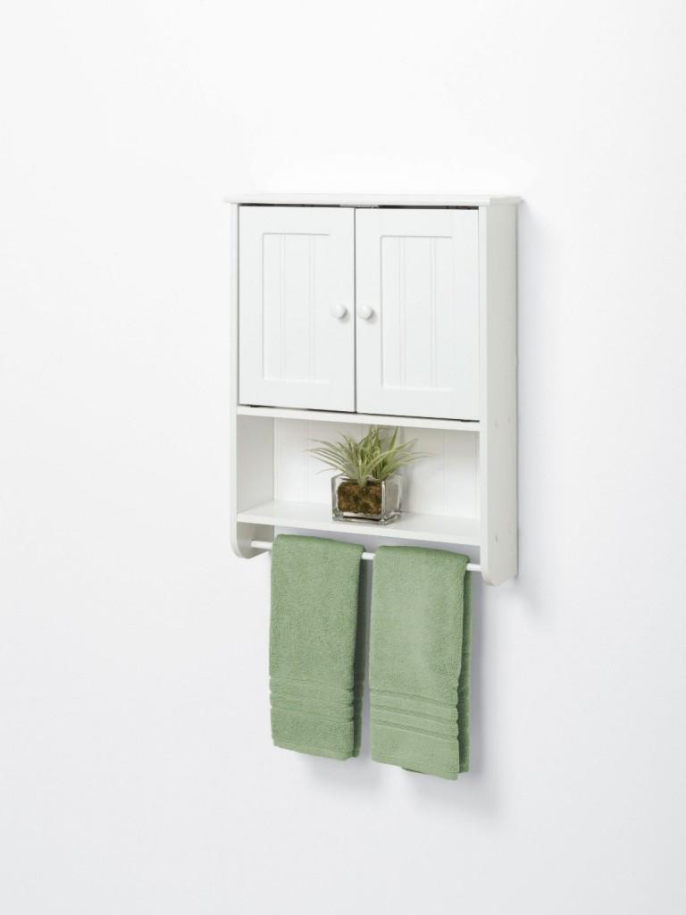 Large Of White Wood Bathroom Shelf