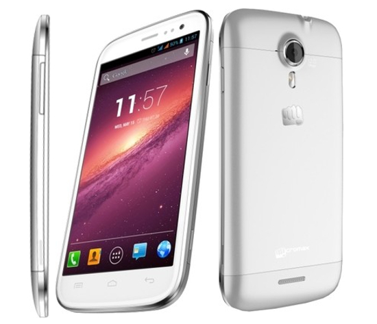 Micromax Canvas Magnus A1171 5 Best Android Phones under 15000 Rs (February 2014)