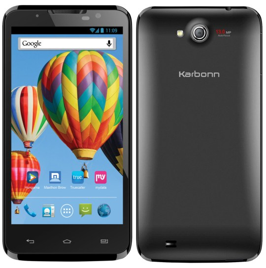 Karbonn Titanium S7 5 Best Android Phones under 15000 Rs (February 2014)