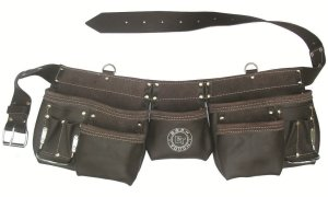 Born Tough 11 Pocket Tool Bag Belt Apron