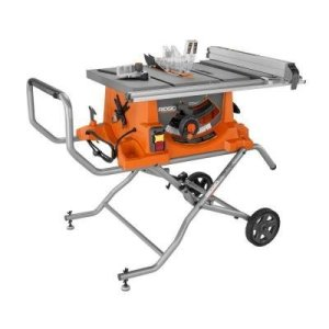 15 Amp 10 in. Heavy-Duty Portable Table Saw with Stand Ridgid