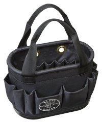 Klein Tools 5144BHB14OS Hard-Body Aerial Bucket Lineman Tool Bag