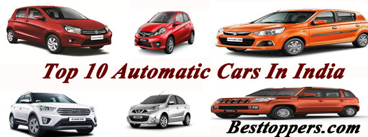 Top 10 Automatic Cars in India