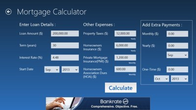 Bankrate Mortgage for Windows 8 and 8.1