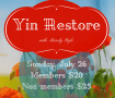 Yin Restore with Mandy Ryle at Sound Method Yoga